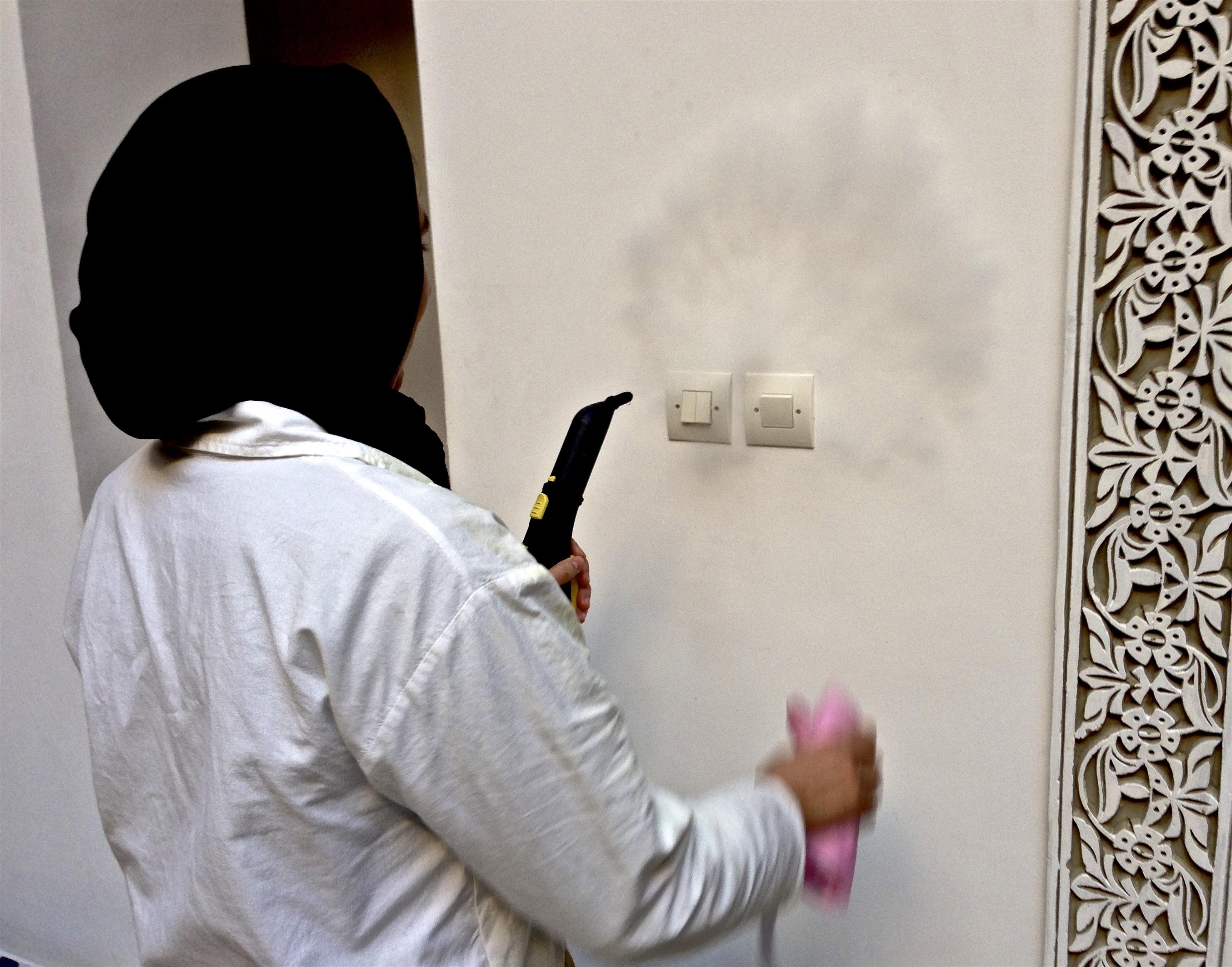 nettoyage-désinfection vapeur