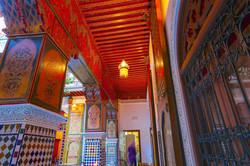 plafond en Zouaq riad TOYOUR