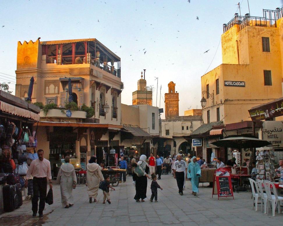 Entrée Bab Boujloud