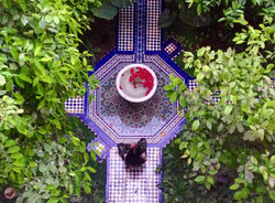 fontaine du riad toyour
