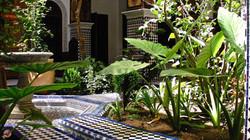 patio du riad Toyour