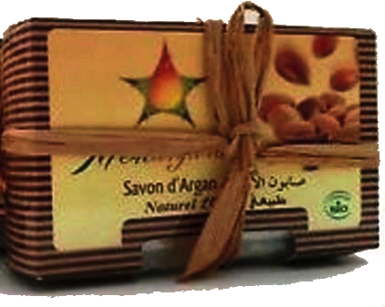 savon naturel à la rose
