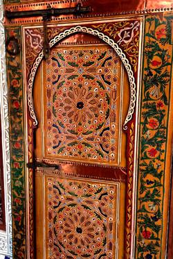 une des portes traditionnelles