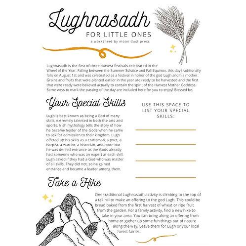 Lughnasadh // Lammas Worksheet ✧ Printable
