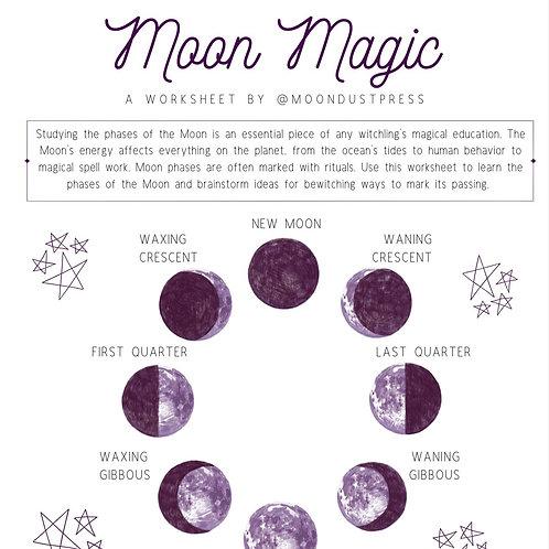 Moon Magic Printable Worksheet