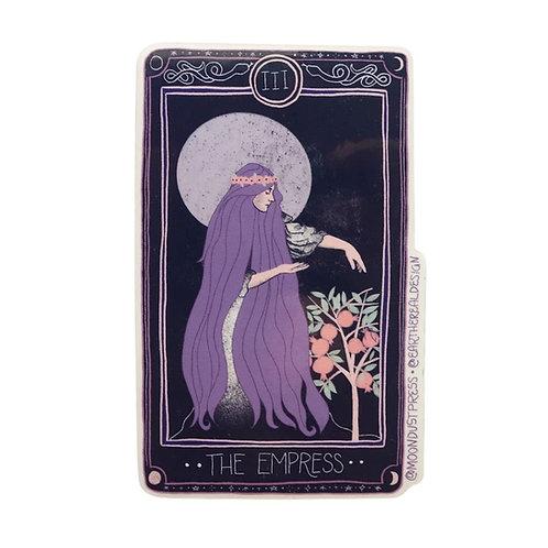 The Empress Tarot Card Sticker