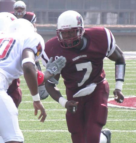 Alexis Moreland DB 2004 Southern Illinois University