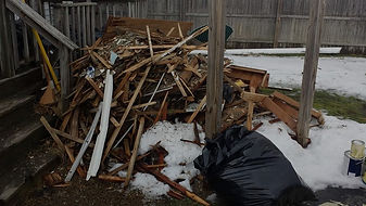 construction debris waste, demo debris, demolition waste, demolish, dry wall, lumber, concrete removal, brick removal