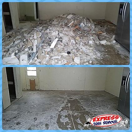 Construction waste & debris removal