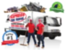 express junk removal, dumpster rental, dumpster rental alternative, trash pickup, junk pickup, youngstown ohio, warren ohio, boardman ohio, tv removal