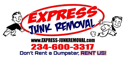 express junk removal, dumpster rental, dumpster rental alternative, trash pickup, junk pickup, youngstown ohio, warren ohio, boardman ohio