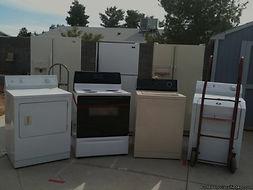 appliance removal services, refrigerator, fridge, stove, washer, dishwasher, chest freezer, freezer