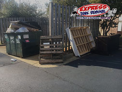 apartment cleanout, apartment junk, property management junk removal, removal service, eviction, apartment eviction.