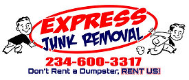 Express Junk Removal, Dumpster Rental Alternative, full service junk removal, furniture removal
