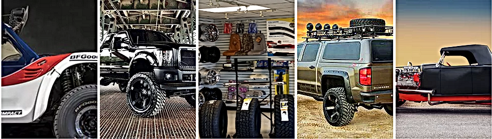 Assorted aftermarket accessories