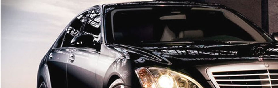 Picture of car with tinted glass