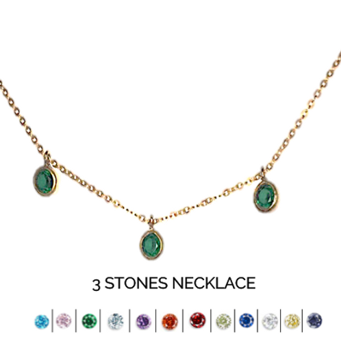 STONE MONTH NECKLACE