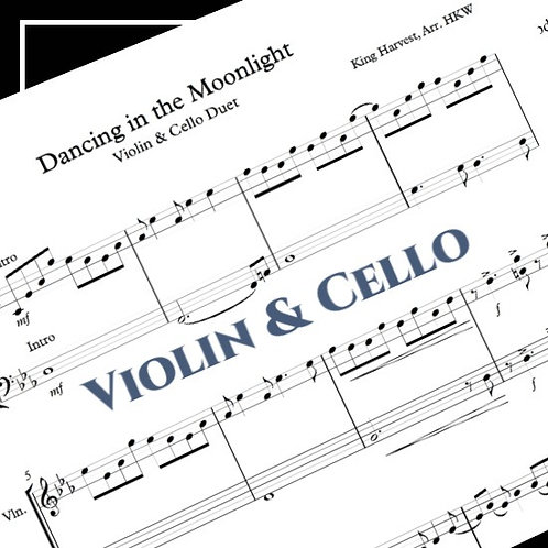 Dancing in the Moonlight - King Harvest - Violin & Cello Duet