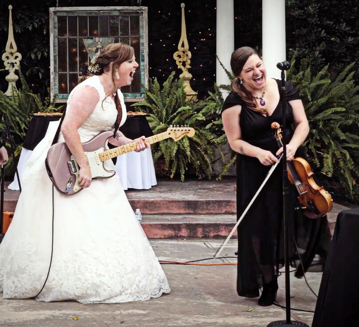 Performing at my sister's Wedding!