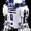 Thumbnail: R2D2 - Star Wars (1) - Blank Staff Paper