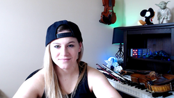 Hannah in her Studio