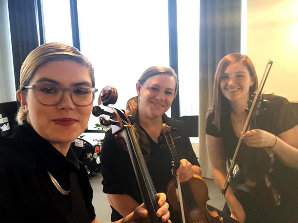 Rachel, Leyla & Hannah Wedding Gig
