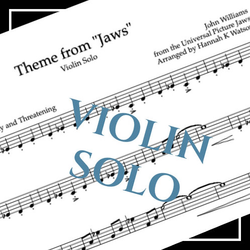 Theme from Jaws - John Williams - Violin Solo