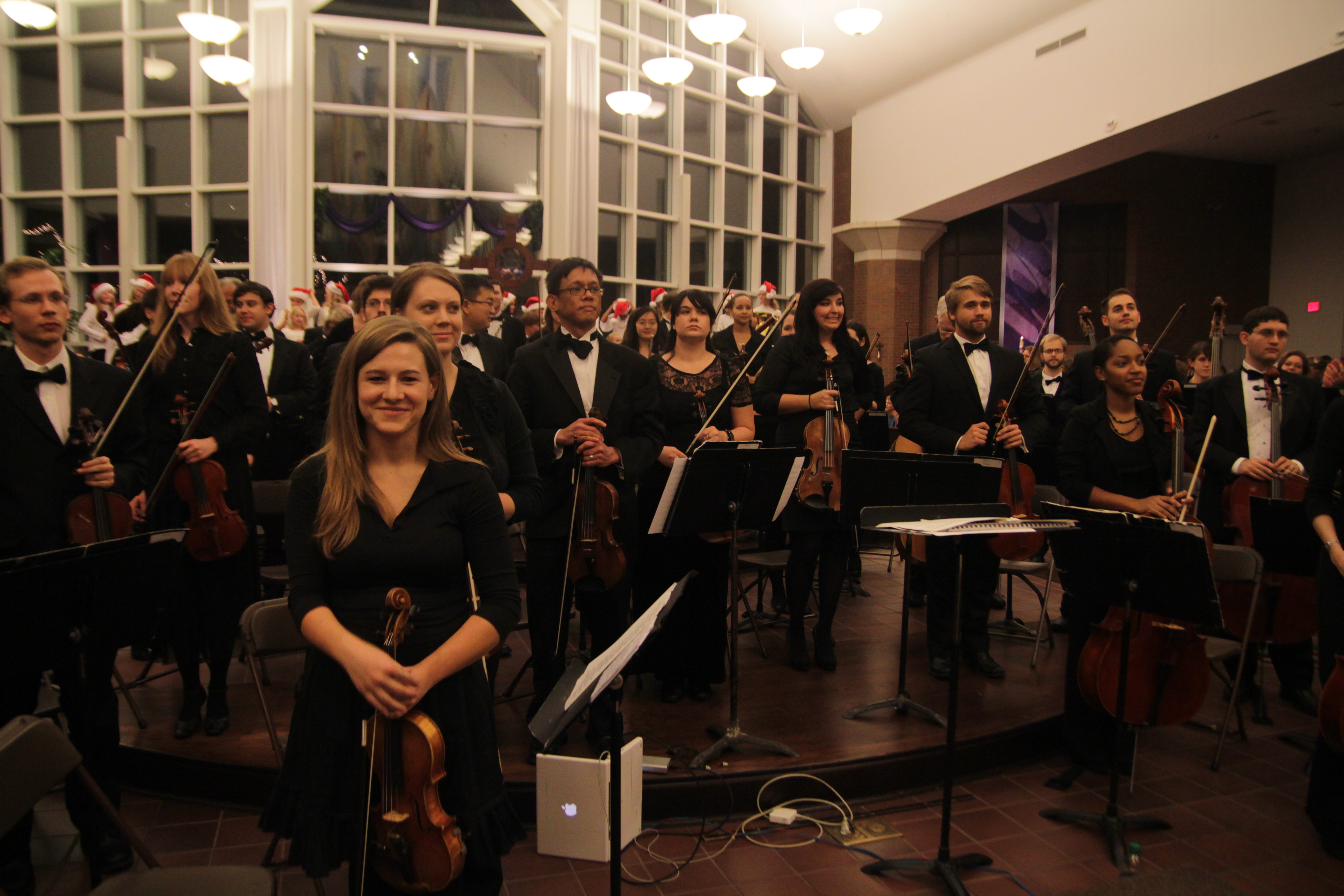 Concert Mistress of the Chicago Metropolitan Symphony Orchestra