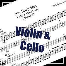 no surprises sheet music shop thumbnail.