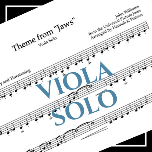 Theme from Jaws - John Williams - Viola Solo