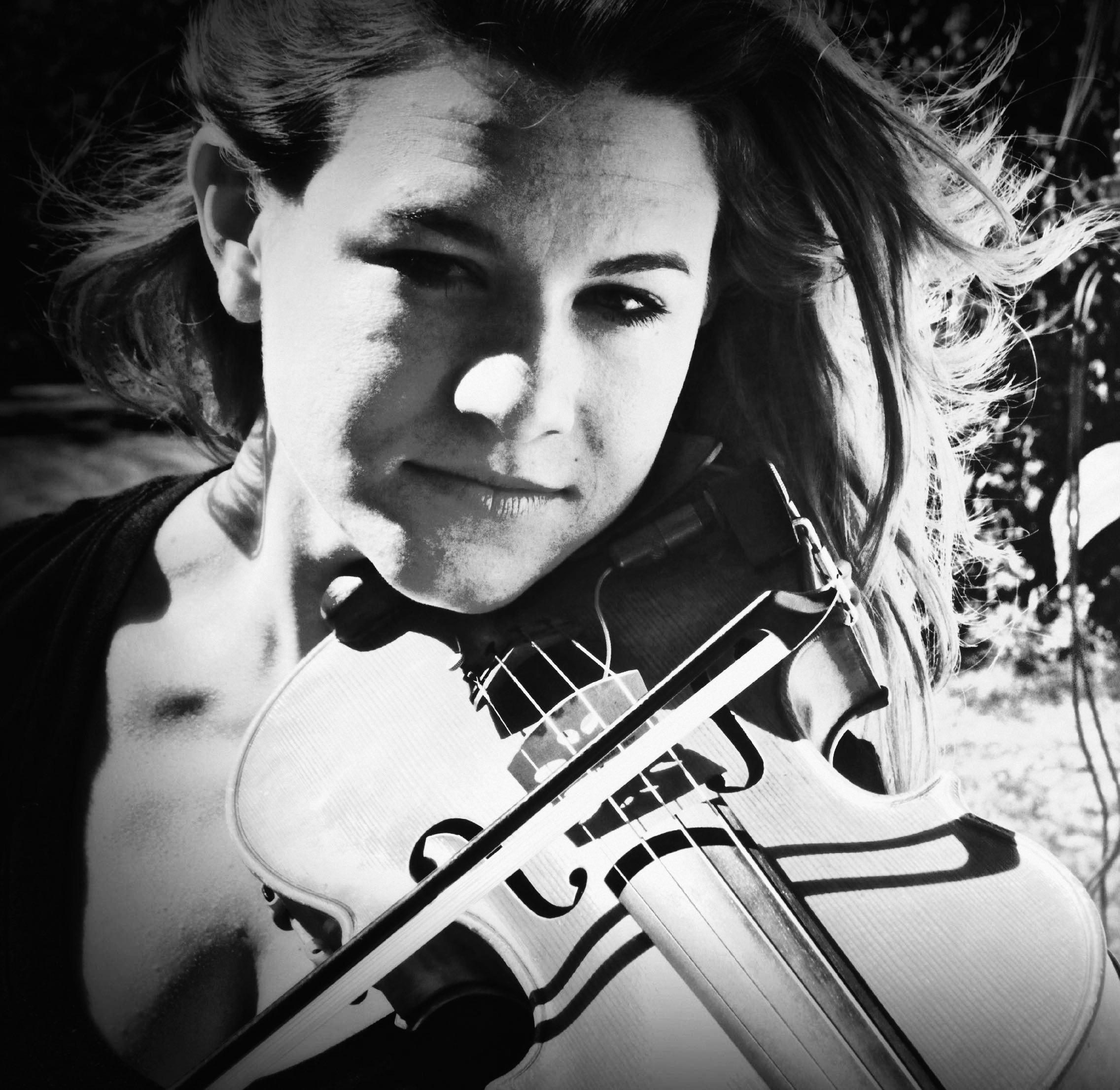 Hannah K black and white