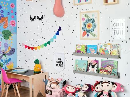 Transformando o quarto de bebê em quarto kids