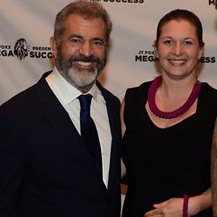 Mel Gibson and Darina Schartman