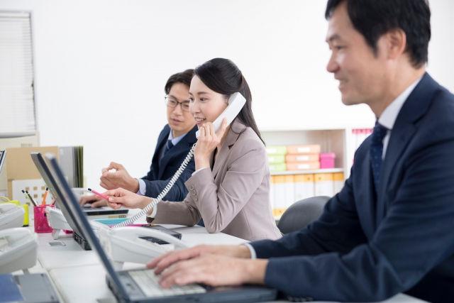 内勤職の企業紹介