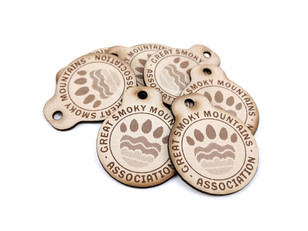 Great Smoky Mountain Leather FOBS with h