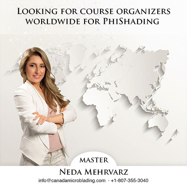 Canada Microblading Academy is looking for course orgnizers worldwide and in toronto microblading or vancouver microblading