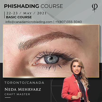 PhiShading training Phi Master Neda Mehrvarz 22 23 MAY vancouver