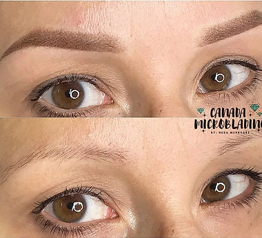 ombre powder brows thunder bay l Thunder Bay PMU Center l Thunder bay eyebrow design, Thunder Bay Ombre brows artist