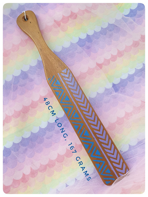 Geometric Patterned Diddle Stick