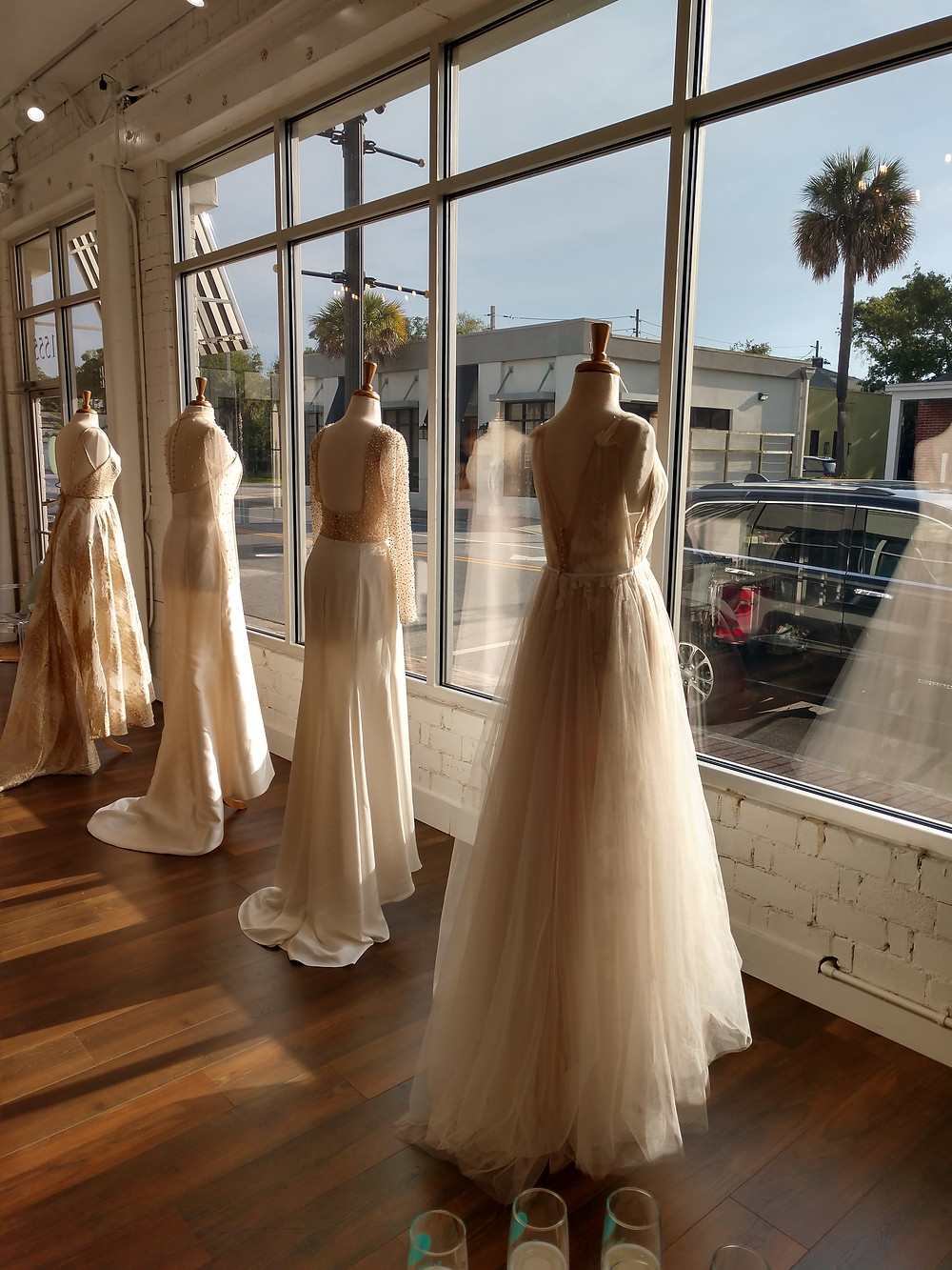 White Magnolia Bridal Boutique wedding dress gown shop