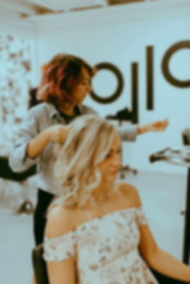 Mane Event Hair Artistry's Jacqualine Fermin specializes in on-site bridal and editorial hair stylin