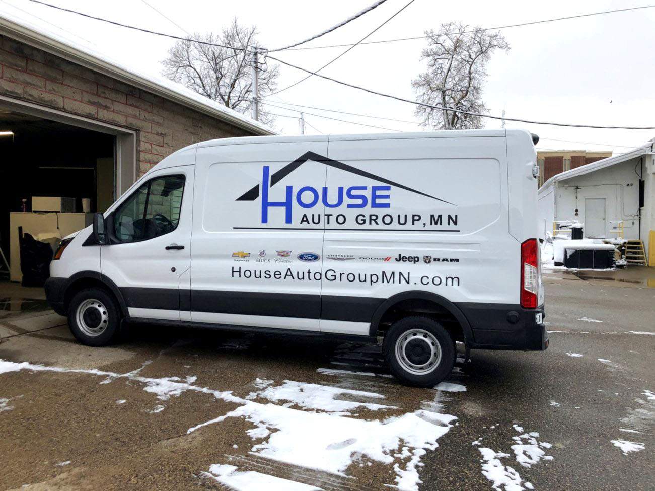 House Ford Transit