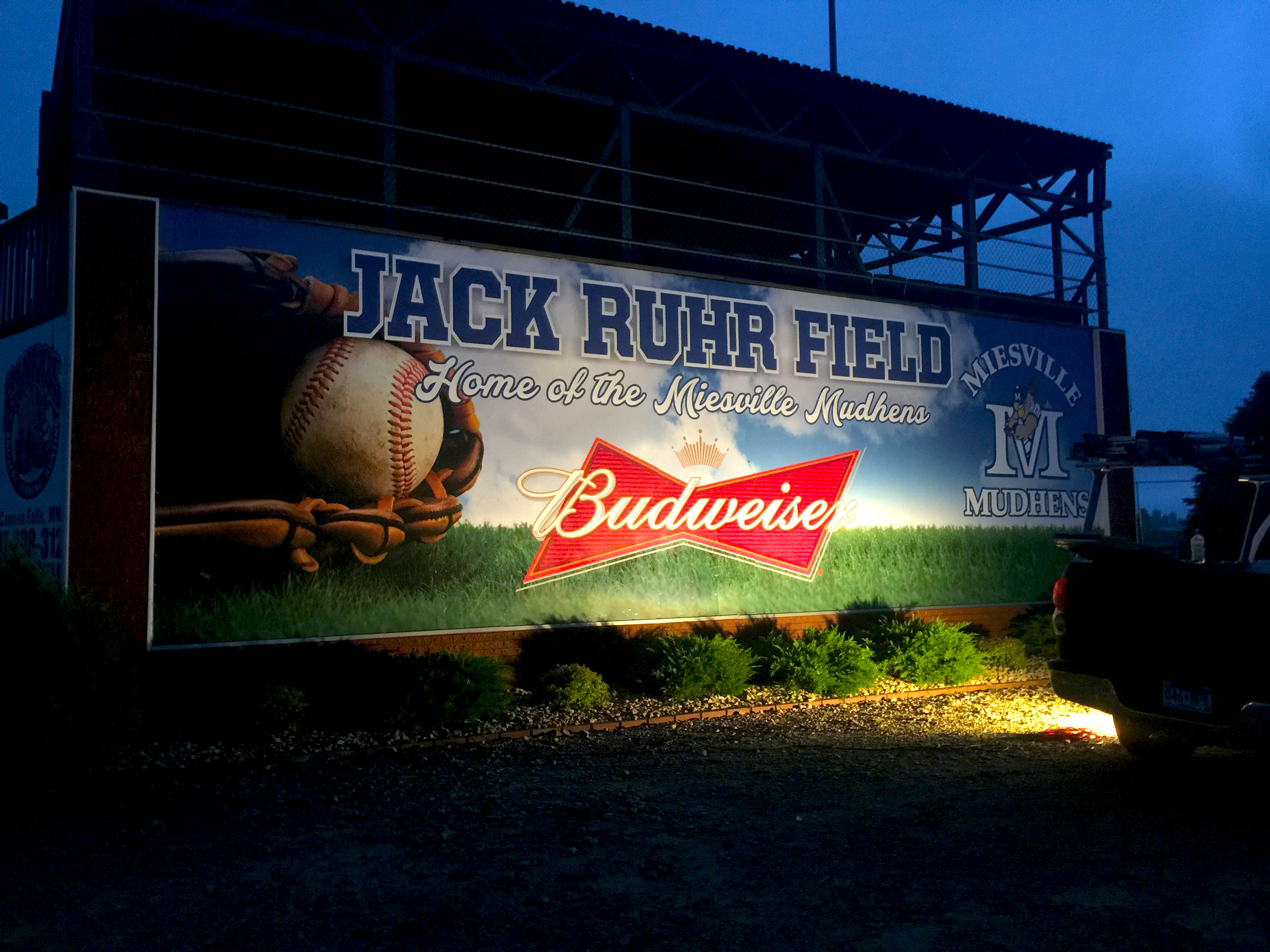 Jake Ruhr Baseball Field