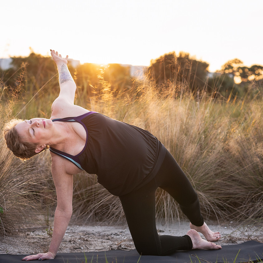 Yoga and Relaxation with Jacquie August!