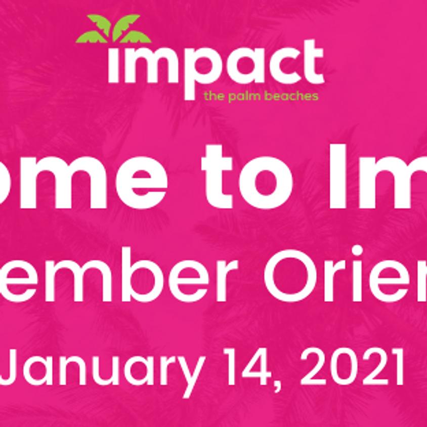 New Member Orientation- January