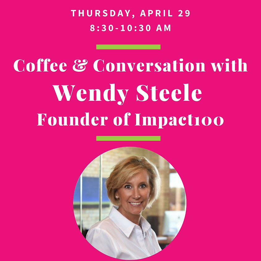 Coffee & Conversation with Wendy Steele