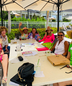 Impact lunch at the North Palm Beach Country Club Pool May