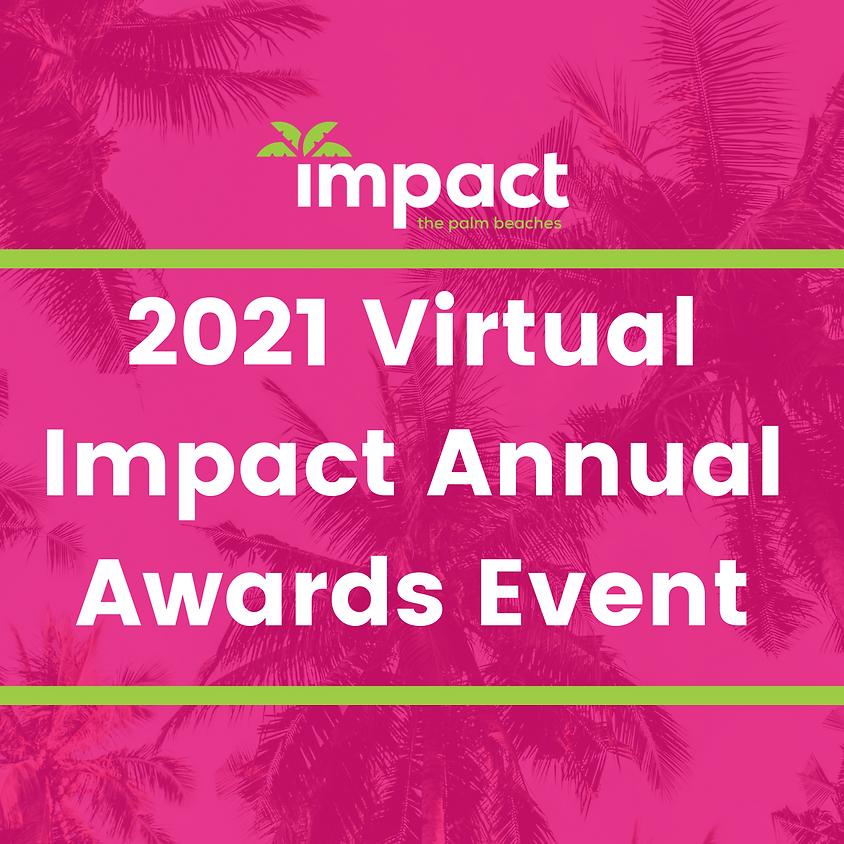 2021 Virtual Impact Annual Awards Event