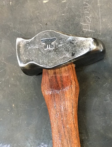 Hand-forged Lilie Hammer - Cross Pein / Square