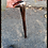 """Thumbnail: Hand Forged Lilie Cane - Bronze """"Egg"""" Top"""